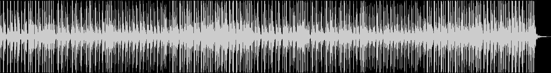優しいベルの音のポップス。クリスマス用の未再生の波形