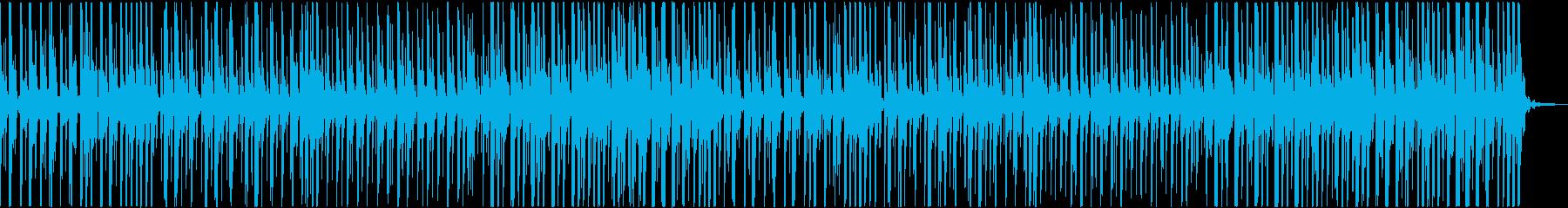 優しいベルの音のポップス。クリスマス用の再生済みの波形