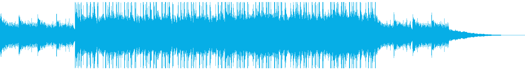 CMや動画のBGMにおすすめ!の再生済みの波形