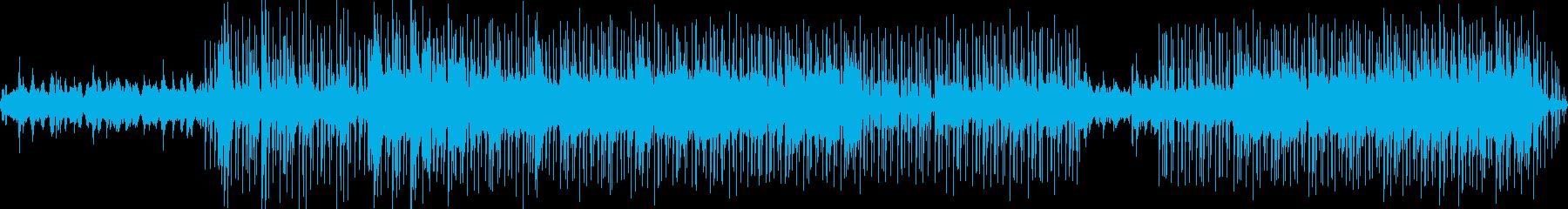 日常風景を感じるおだやかなBGMの再生済みの波形