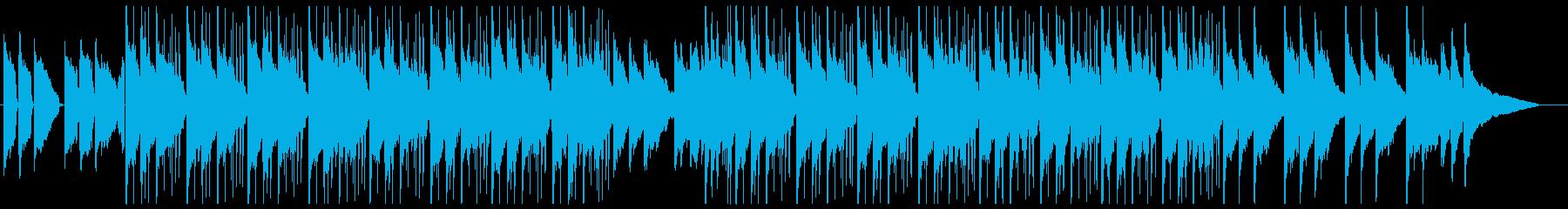 クールさが漂うジャズ系アンビエントの再生済みの波形