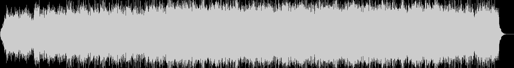 幻想的 浮遊感 ピアノ アンビエントの未再生の波形