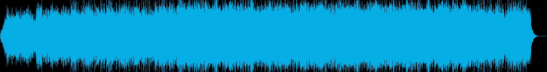 幻想的 浮遊感 ピアノ アンビエントの再生済みの波形