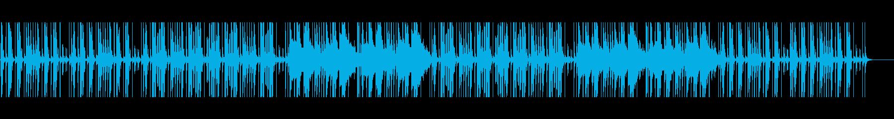 水をイメージしたチル系アンビエントの再生済みの波形