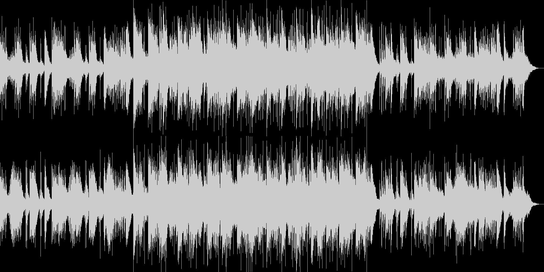 和楽器の音色を活かした和風スローグルーヴの未再生の波形