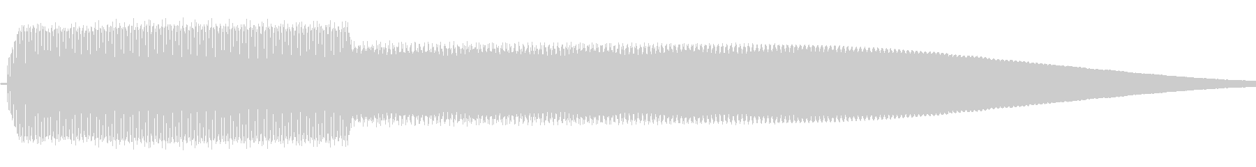 ピコッ(シンプル/決定音/単音)の未再生の波形