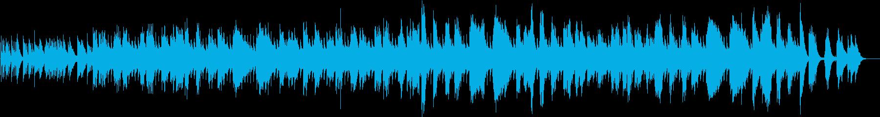 ラブソングの再生済みの波形
