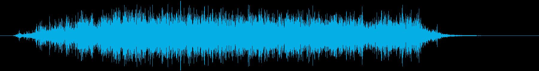 スプレー噴射 シューの再生済みの波形
