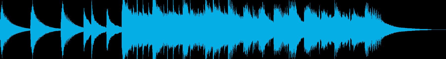 大地が割れる時(ピアノのみバージョン)の再生済みの波形