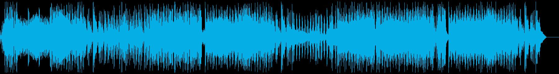 【メロなし】サンバ+四つ打ちの再生済みの波形