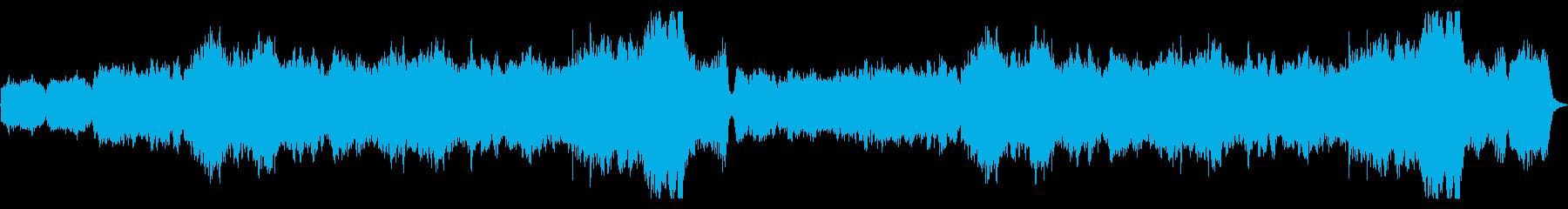 RPGループ仕様楽曲、魔法使いの部屋の再生済みの波形