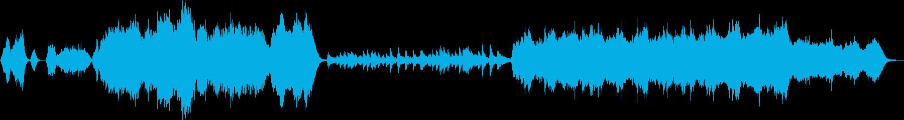 オーケストラ バラード 管 ピアノ 盛大の再生済みの波形