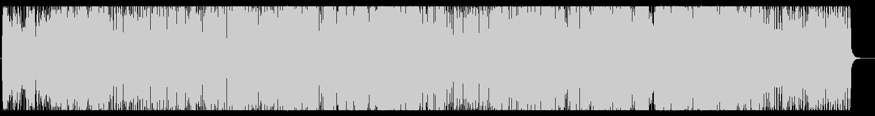 ピアノの旋律がお洒落でキャッチーなポップの未再生の波形