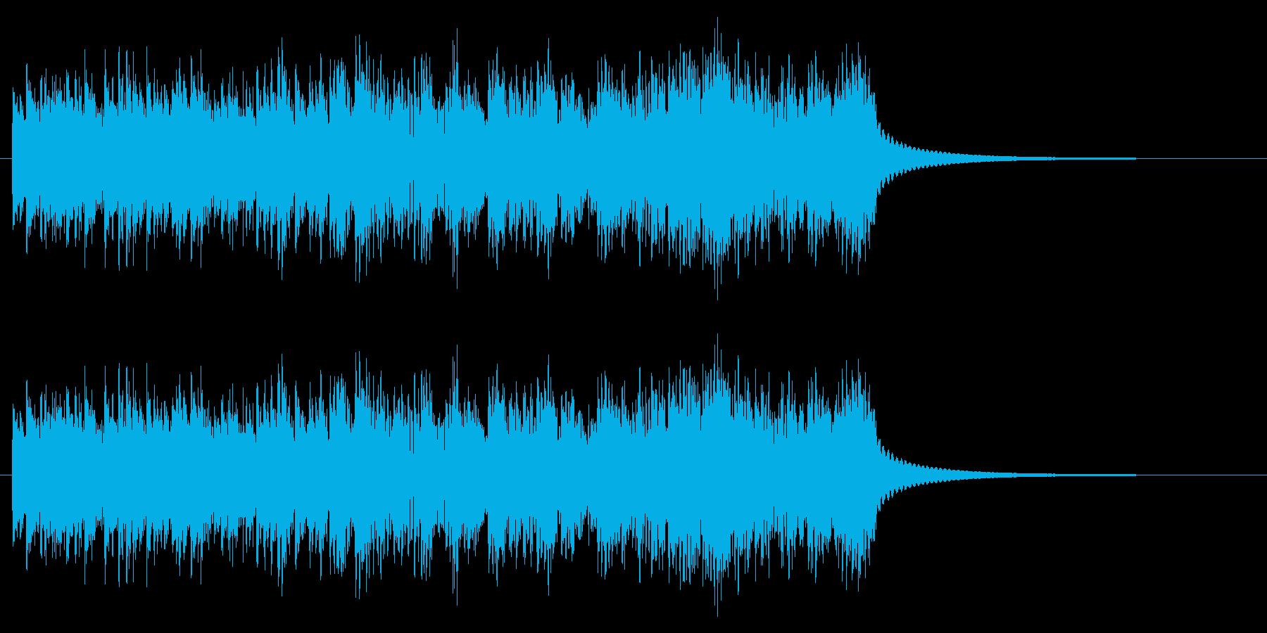 時計 アラーム04-02(弱)の再生済みの波形