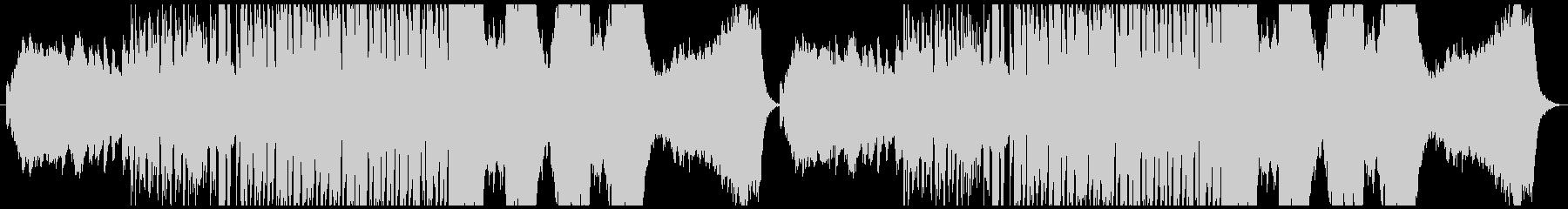 ハロウィン・かわいいホラー曲の未再生の波形
