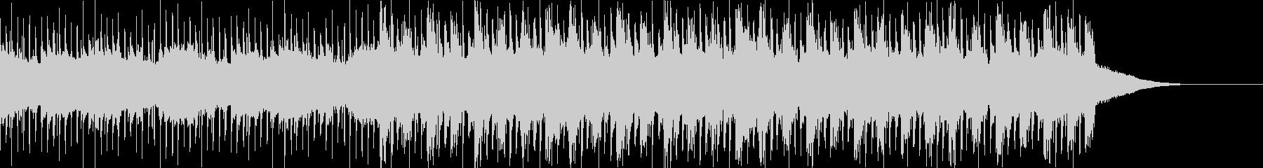 Pf「自慢」和風現代ジャズの未再生の波形