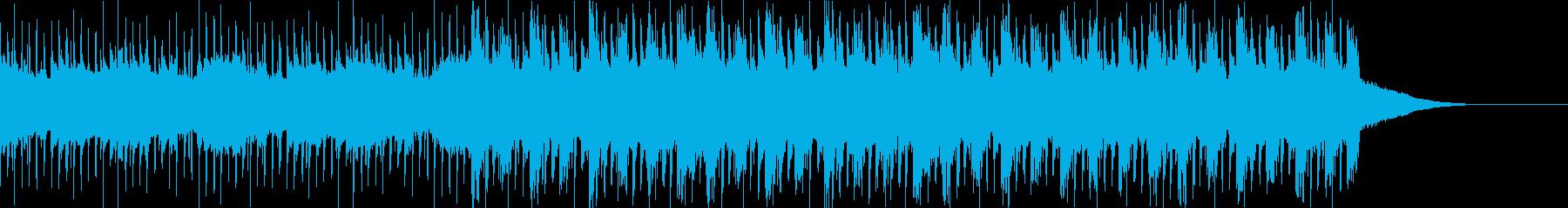Pf「自慢」和風現代ジャズの再生済みの波形