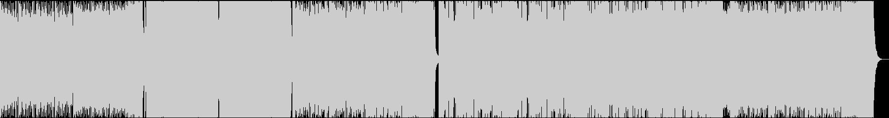 低音が強調されてるDjent Stepの未再生の波形