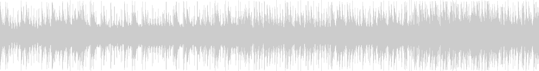 8bit スペースチックBGM ループ版の未再生の波形