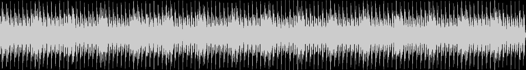 声と音によるテクノの未再生の波形