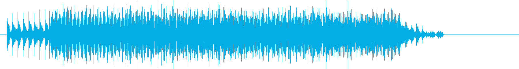 追いかける・追われるのイメージの再生済みの波形