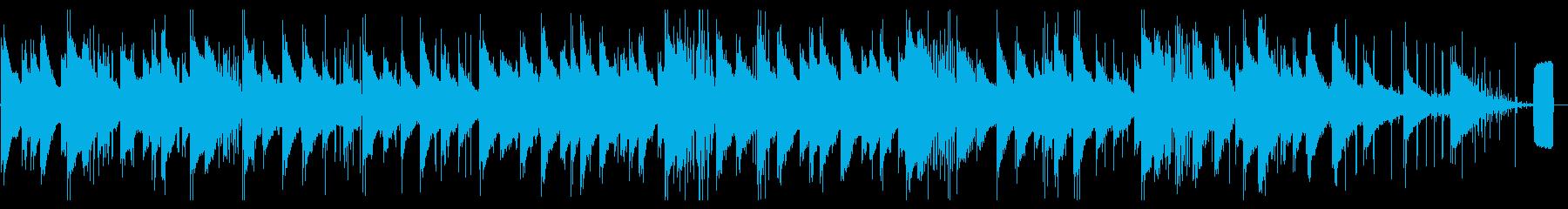 <おもしろBGM>ソが壊れたオルゴールの再生済みの波形