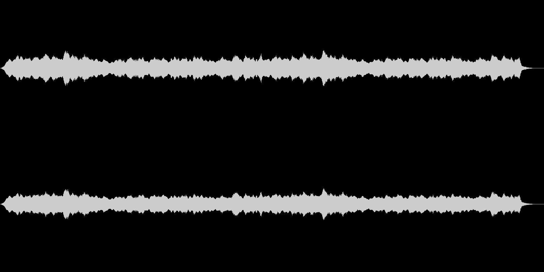 お寺などのヒーリング系の未再生の波形