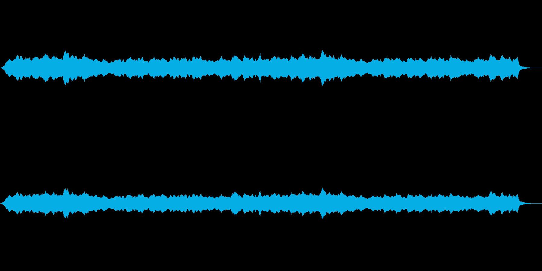 お寺などのヒーリング系の再生済みの波形