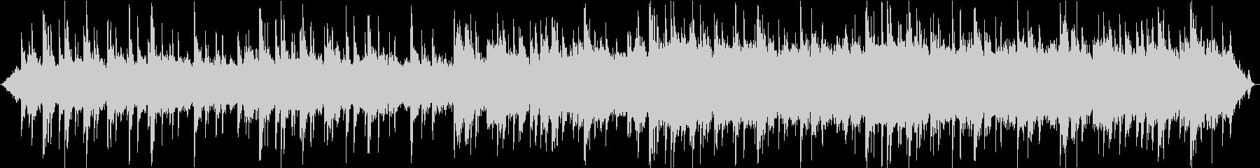 森とピアノが印象的なヒーリング音楽の未再生の波形