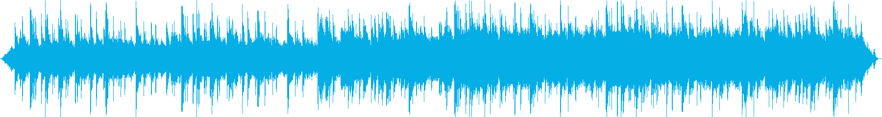 森とピアノが印象的なヒーリング音楽の再生済みの波形