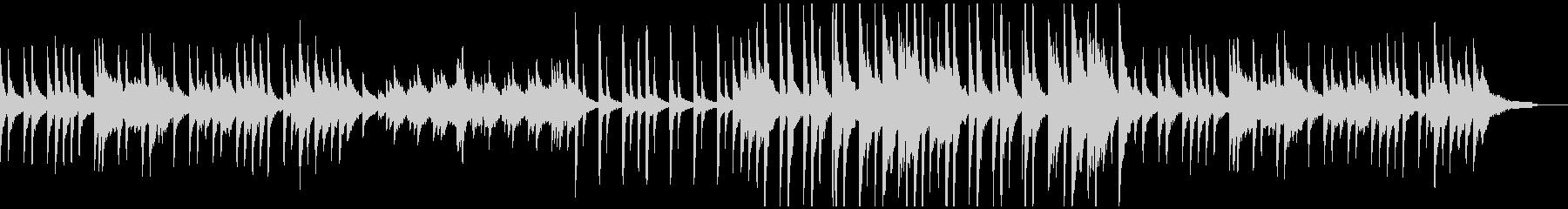 ノベルゲーみたいなノスタルジックなピアノの未再生の波形