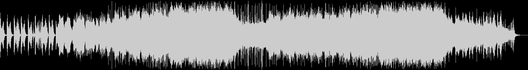 和楽器による和風BGM 4の未再生の波形