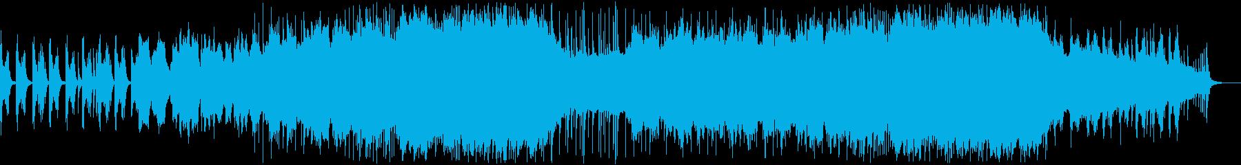 和楽器による和風BGM 4の再生済みの波形
