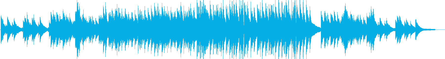 感動・わくわく・ピアノ・映像・イベント用の再生済みの波形