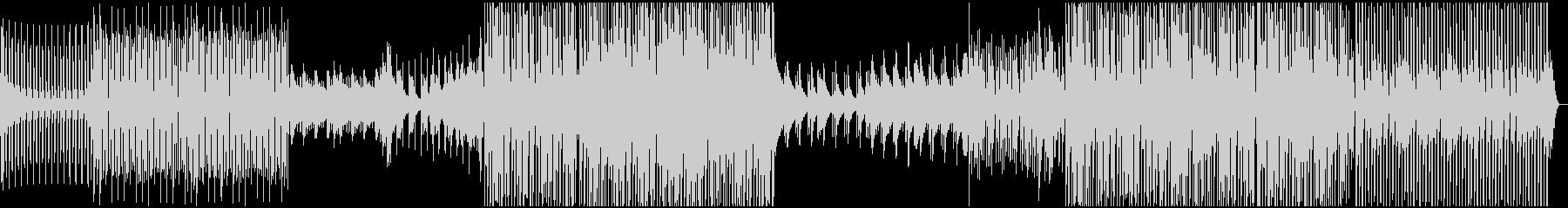 ディープ・ハウス。深いベースラインの未再生の波形