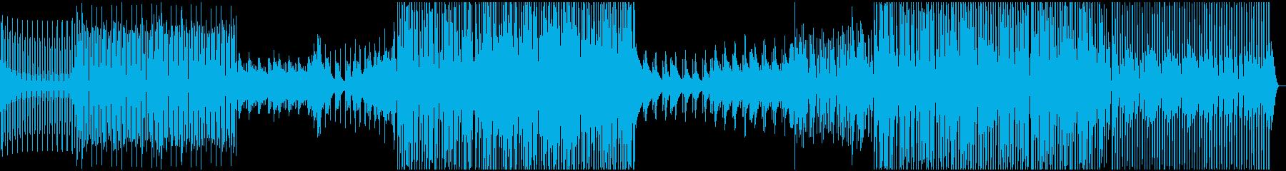 ディープ・ハウス。深いベースラインの再生済みの波形