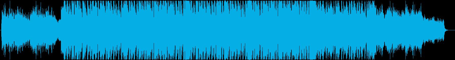 ヴァイオリンの元気な企業VPコーポレートの再生済みの波形