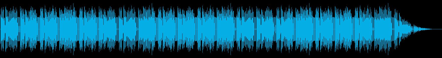 GB系風和風ゲームのゲームオーバーの再生済みの波形