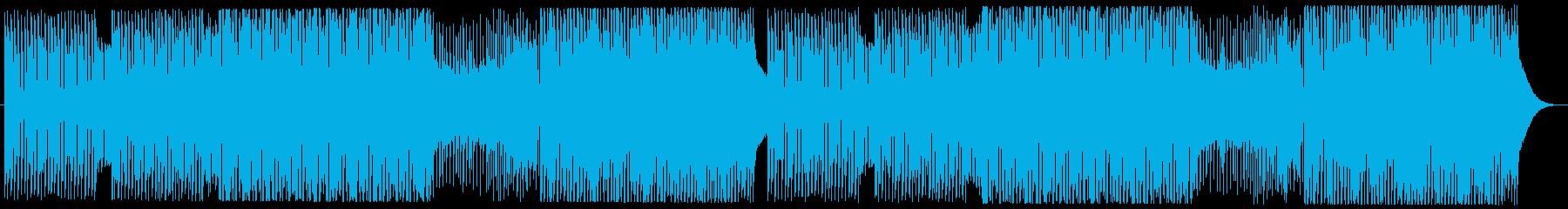 カッコイイEDMFuturehouseの再生済みの波形