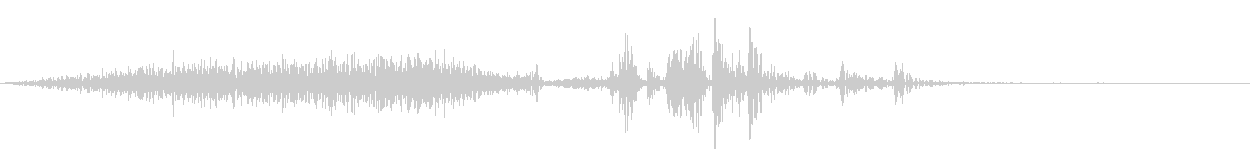 【生録音】本のページをめくる音 10の未再生の波形