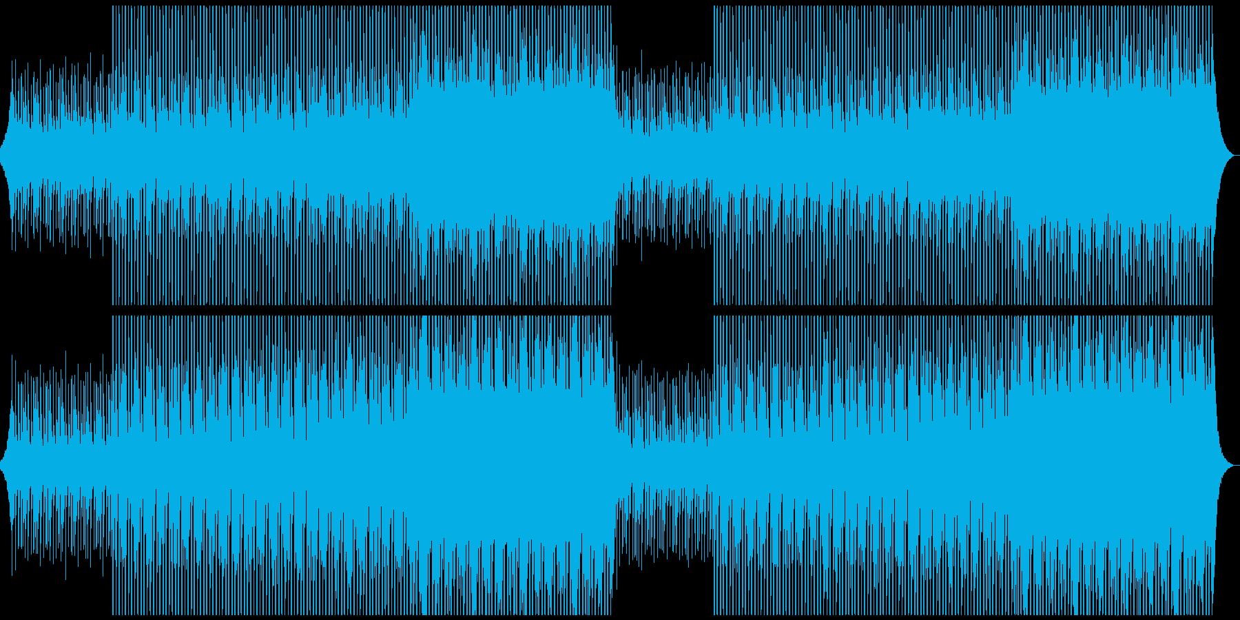 企業VPに!優しい、穏やか、綺麗ピアノの再生済みの波形