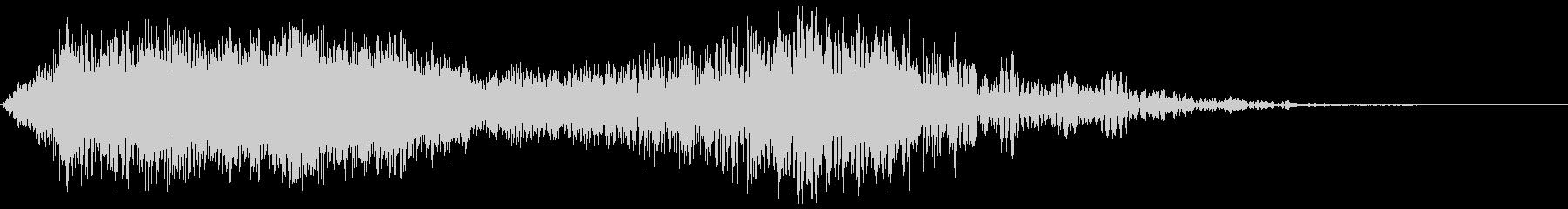 ぶわぁピュゥゥ(パイプオルガンと風)の未再生の波形