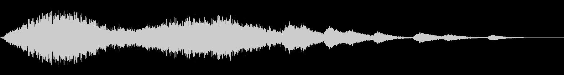 ジャララーンキラキラ(綺麗な魔法音)の未再生の波形