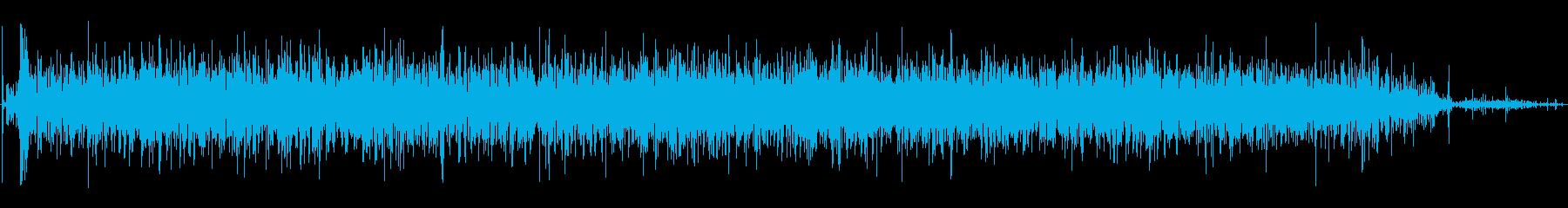 ラピッドドライアイスバブルの再生済みの波形