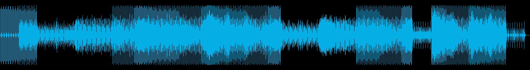 怪しい雰囲気の夜に合うハウスミュージックの再生済みの波形