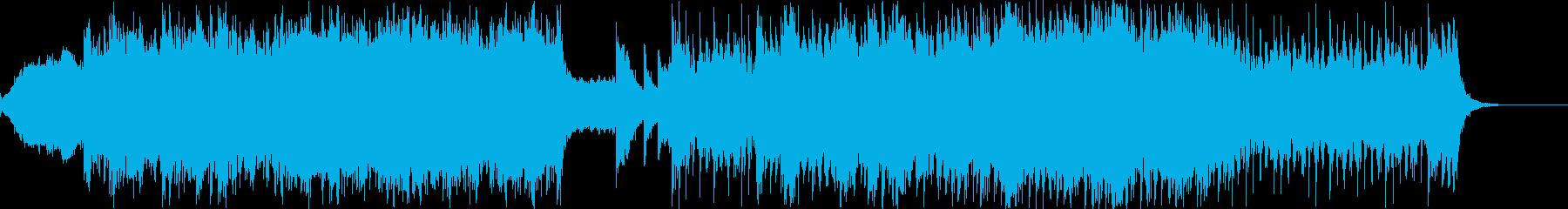 壮大パーカッシブなEDM的シネマティックの再生済みの波形