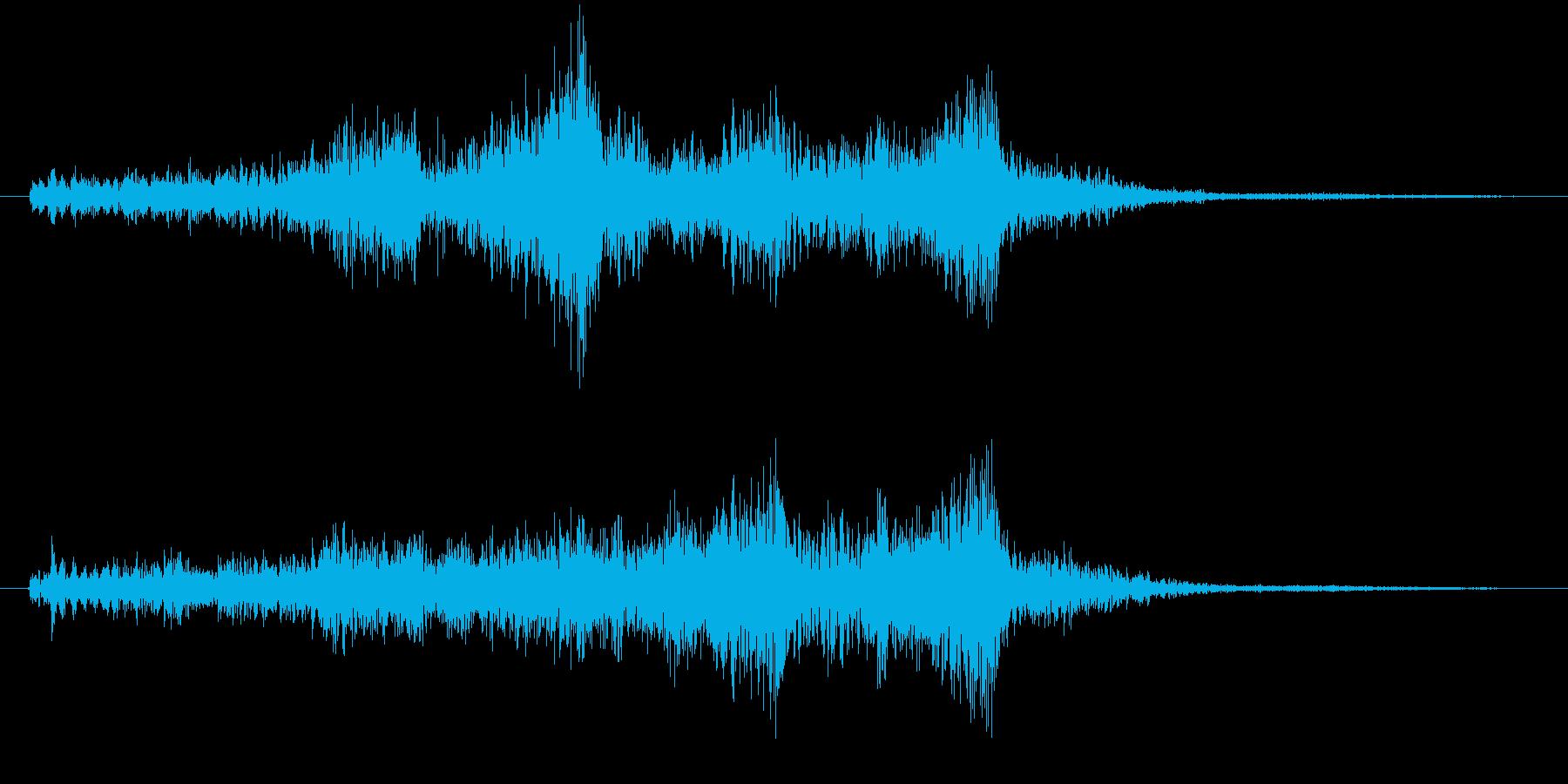 【タイトル】SFX_07 メカの再生済みの波形