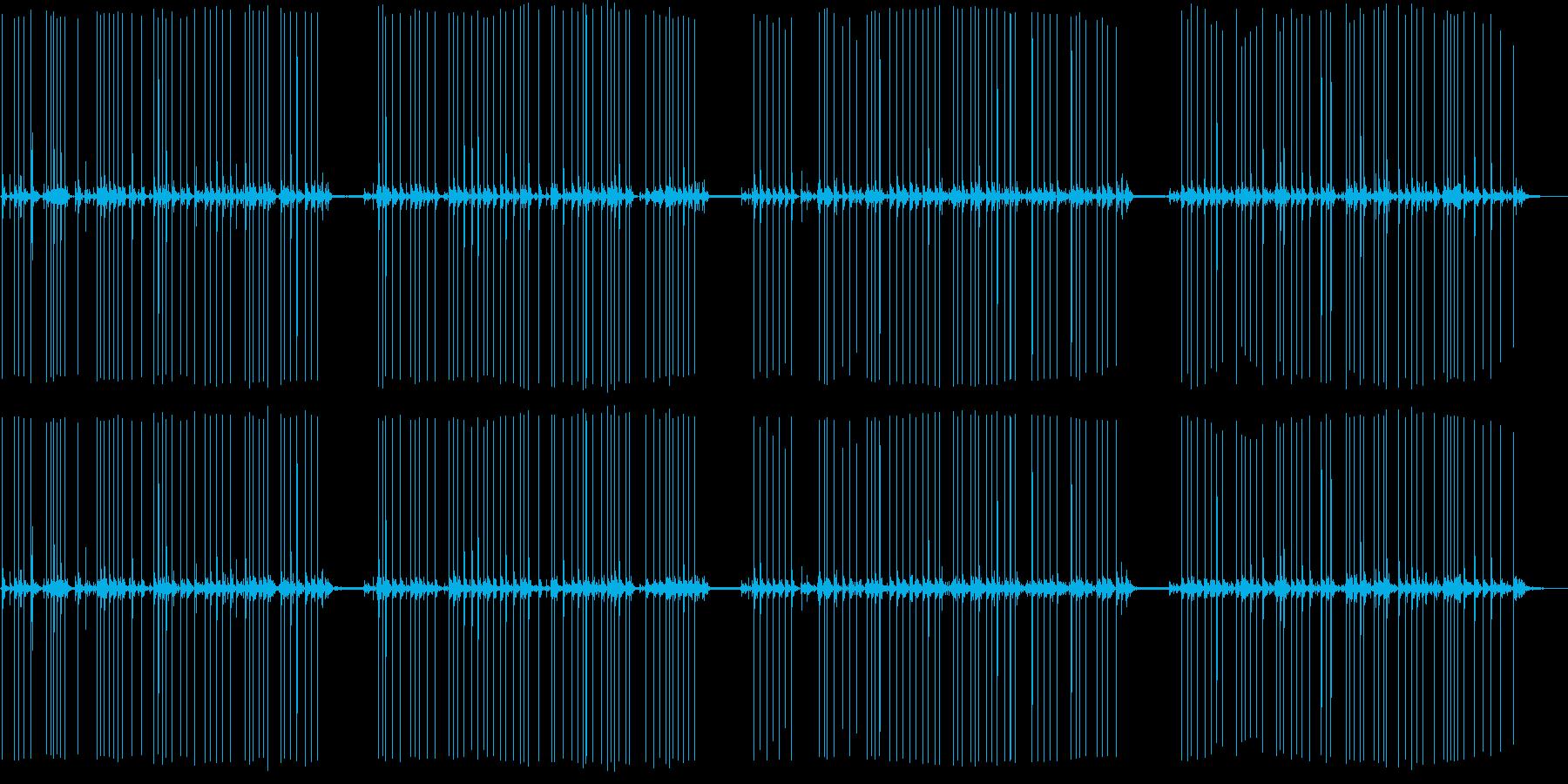 電気タイプライターで入力の再生済みの波形