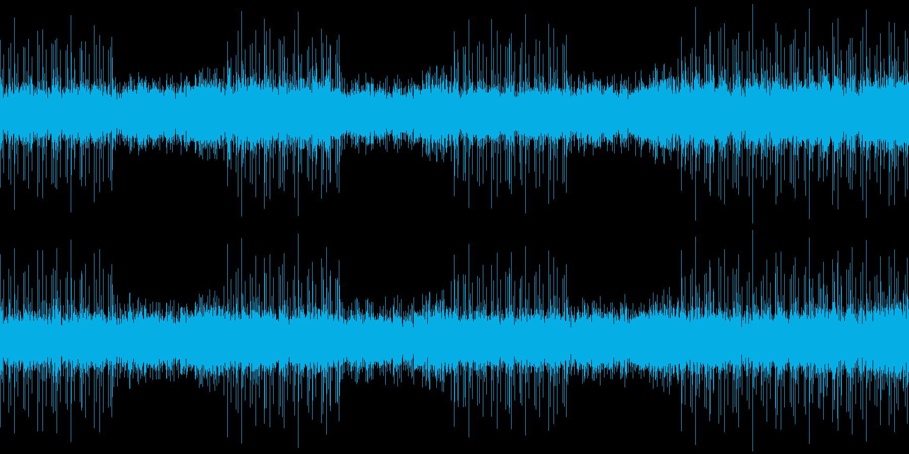 108bpm、Bb-Maj、アルペジオの再生済みの波形
