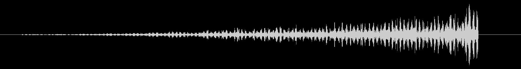 ディープパルスリバースの未再生の波形